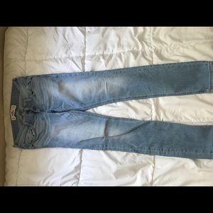 Like new hollister skinny jeans